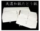 【最高級】美濃和紙製たとう紙 薄紙付き★着物用+帯用 《組み合わせ自由》